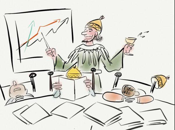 Das Märchen vom genauen Plan im Steuerkreis